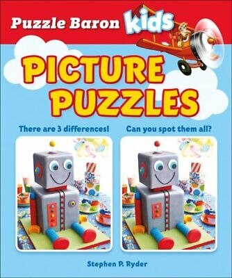 Puzzle Baron Kids Picture Puzzles by Stephen P Ryder 9781465483041 | Brand New