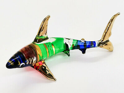 Whale Shark Hand Blown Blowing Glass Art Sea Animal Fancy Collectibles Decor 2
