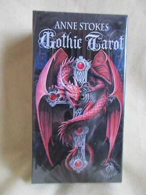 Anne Stokes Gothic Fantasy Tarot Cards By Fournier New In Sealed Pack