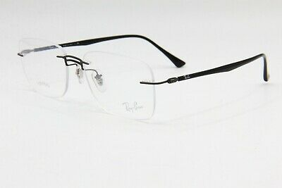 86b7bfd40 New Ray Ban Rb 8750 1128 Black Authentic Eyeglasses Frame Rb8750 Rx 54-17