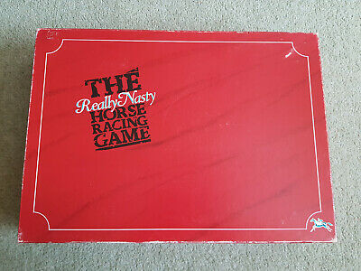 THE REALLY NASTY HORSE RACING GAME Vintage 1989 Complete VERY GOOD CONDITION