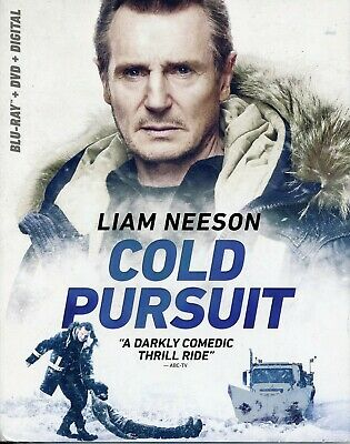 Cold Pursuit Blu-Ray + Dvd + Digital Brand New