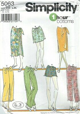 Simplicity  5063 Misses' Skirts, Pants and Shorts    Sewing Pattern