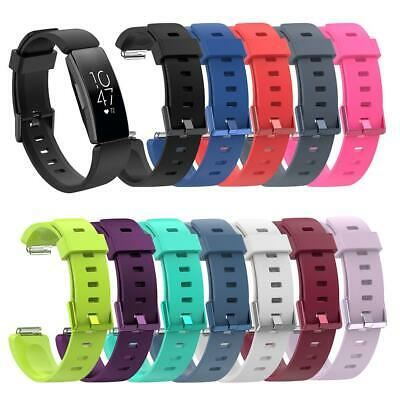 For Fitbit inspire Watch Band Replacement Silicone Diamond Bracelet Wrist Strap