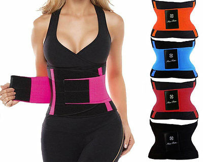 SH Xtreme Power Belt Hot Slimming Fajas Sport Body Shapers Waist Trainer Tr M0S3