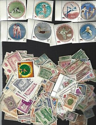 DOMINICAN REPUBLIC sc#525-9,C115-17 (1960) Complete MNH + Nice lot 1.6 Oz.