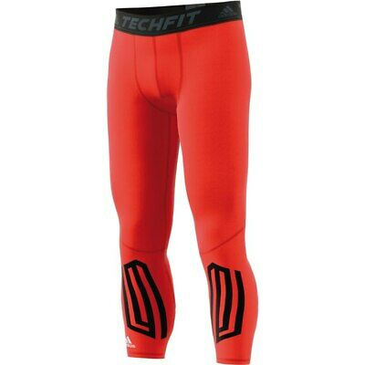 adidas Mens Techfit Compression Tights Base Layer Fitness Long Legging Bottoms