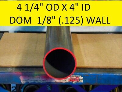 "E0399  Dom Round Steel Tube  4.250 Od  X   4.000 Id  (.125 Wall)   24""  Long"