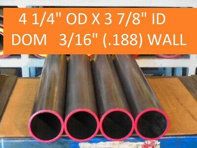 "E0403  Dom Round Steel Tube  4.250 Od  X   3.875 Id  (.187 Wall)   36""  Long"