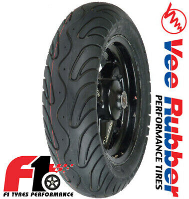 Coppia Gomme Moto Scooter Vee Rubber VRM134 90/90-10 50J + 100/80-10 56J [F1]