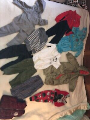 Baby Boy Clothes Lot 12-18 Months Nike, Baby Gap Snow Bomber Army Green, 17