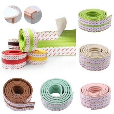 Baby Proofing Edge&Corner Guards Secure Cushion Protector Soft Table Edge Pad F