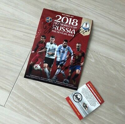 2018 FIFA World Cup Russian Autographed Picture