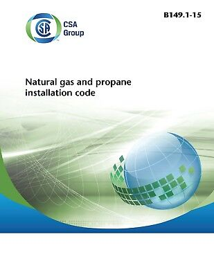 CSA Canadian Natural Gas and Propane Installation Code 2015 B149.1-15