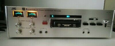 JVC 4ED-1205 4-Ch. 8 Player 2-Ch. Recorder QUADRAPHONIC 8-track tape Player Used