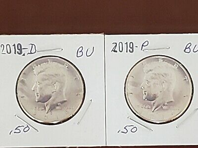 2019-P&D~From Us Mint Set~  Clad~ Kennedy~ Half~ Dollar~ Coin~~ (In Stock)~