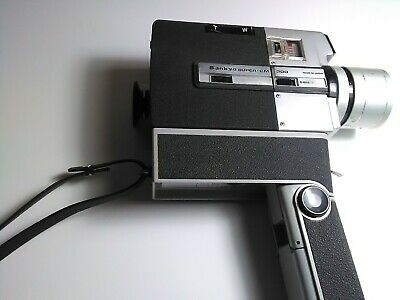 Sankyo Cm300 Super 8mm Cine Camera