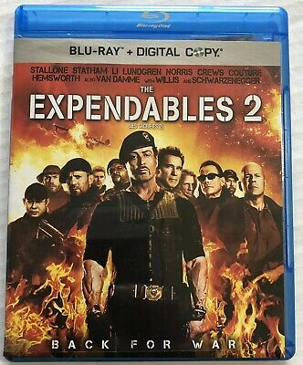 The Expendables 2 (Bluray, 2012) Canadian