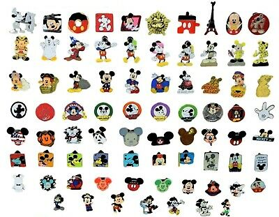 Mickey Mouse Themed 5 Pin Set Walt Disney World Parks Trading Pins ~ Brand NEW