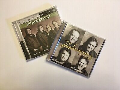 Country CD Lot HIGHWAYMEN HIGHWAYMAN COLLECTION SUPERHITS ~FREE SHIPPING~