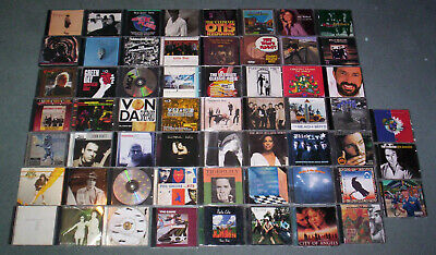 LOT of 59 ROCK CDs! AC/DC AEROSMITH ROLLING STONES HUEY LEWIS TRAIN TRAFFIC CARS