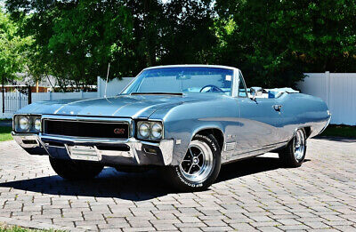 1968 Buick GS 400 Convertible 400 V-8 Bucket Seats Amazing 1968 Buick GS 400 Automatic Power Steering Windows and Top Disc Brakes