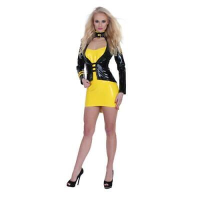 Sexy Damen Latexkleidung GP Datex Minikleid Latex-Mieder Erotik Reizwäsche