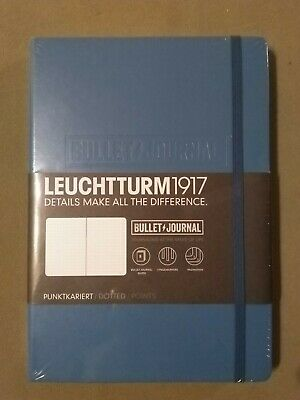 Leuchtturm 1917 Bullet Journal Nordic Blue - Hardcover - Medium - A5 - Dotted
