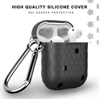 Protective Silicone Case Skin Holder Bag for Apple AirPods Earphones Accessories