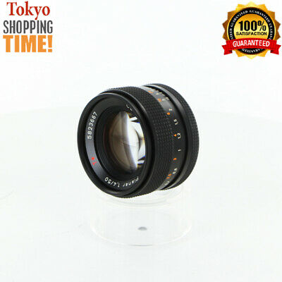 Contax Carl Zeiss Planar T* 50mm F/1.4 AE Lens from Japan