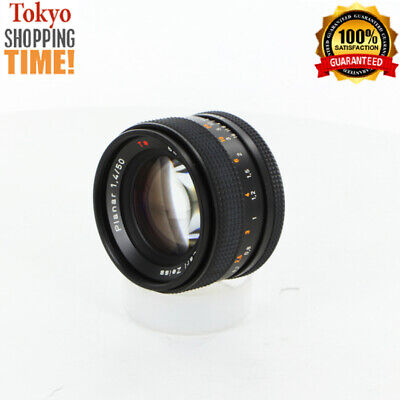 Contax Carl Zeiss Planar T* 50mm F/1.4 AEJ Lens from Japan