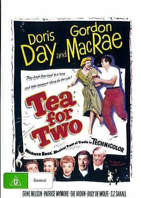 Tea For Two Dvd ( Doris Day ) New And Sealed