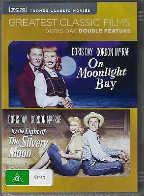 On Moonlight Bay + By The Light Of The Silvery Moon ( Doris Day ) Dvd New