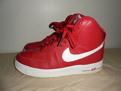 factory authentic d00a9 a8d31 Nike Air Force 1 High  07 315121 606 Gym Red  White Mens Size 10