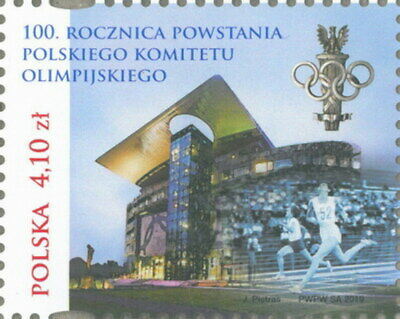 2019 Poland 100th anniversary of the founding of the Polish Olympic Committe