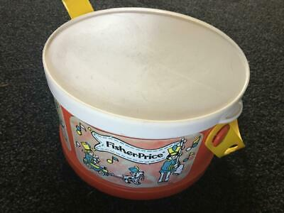 Vintage Fisher Price Drum Kit / 1979 / Rare - Incomplete - Great Price - Buy Now