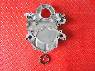 Aluminum Sb Ford Timing Cover 1967-1992 Includes Oil Seal & Dip Stick  Hole 302