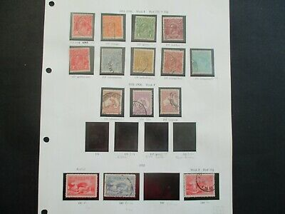 ESTATE: Australian Pre Decimal (Used) Collection on Pages - Must Have!! (362)