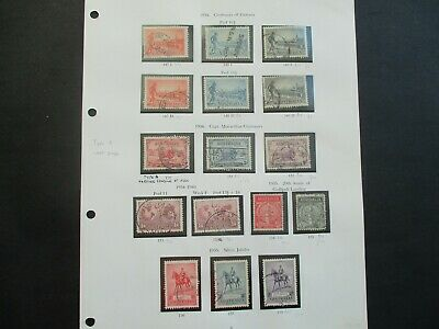 ESTATE: Australian Pre Decimal (Used) Collection on Pages - Must Have!! (363)