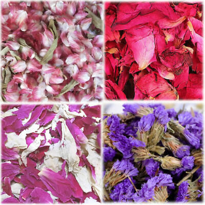 1 Litre Natural Dried Petal Biodegradable Wedding Flowers Throwing Confetti