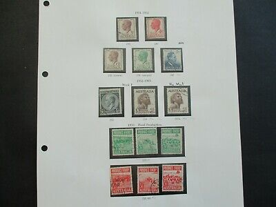ESTATE: Australian Pre Decimal (Used) Collection on Pages - Must Have!! (379)