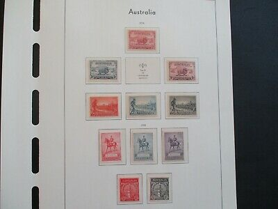 ESTATE: Australian Pre Decimal (MINT) Collection on Pages - Must Have!! (414)
