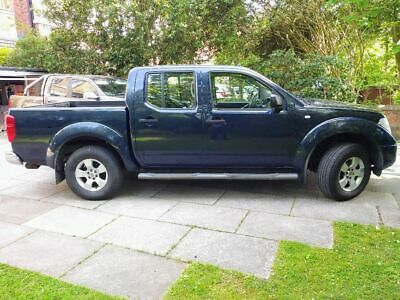 Nissan Navara double cab 2007 one owner from new