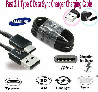 High Quality Samsung Galaxy S8  S9+ Type C USB-C Sync Charger Charging Cable lot