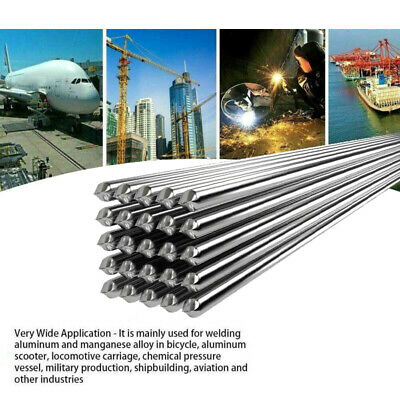 50X Easy Aluminum Welding Rods Low Temperature 1.6mm No Need Solder Powder