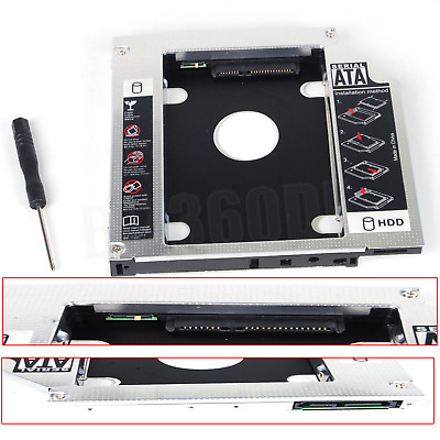 2nd HDD SSD HD SATA Festplatten Caddy Für Laptop 8460p 8470p 8560p 8460w 8560w