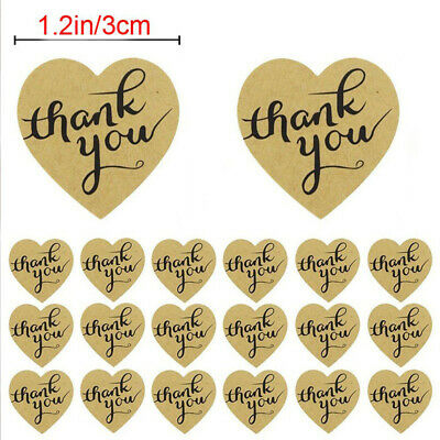 Cards Party Supplies Cookie Bags Box Kraft Stickers Package Label Tag Thank You