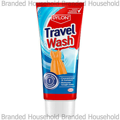 Dylon Holiday Travel Wash Laundry Clean Concentrated Compact Non Bio Colour Safe