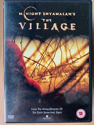 The Village DVD 2004 M. Night Shamalan Supernatural Horror Film Movie