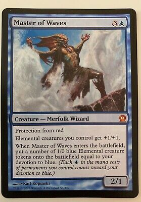 MASTER OF WAVES (Theros) Spanish NEAR MINT condition (NM) / MAGIC THE GATHERING